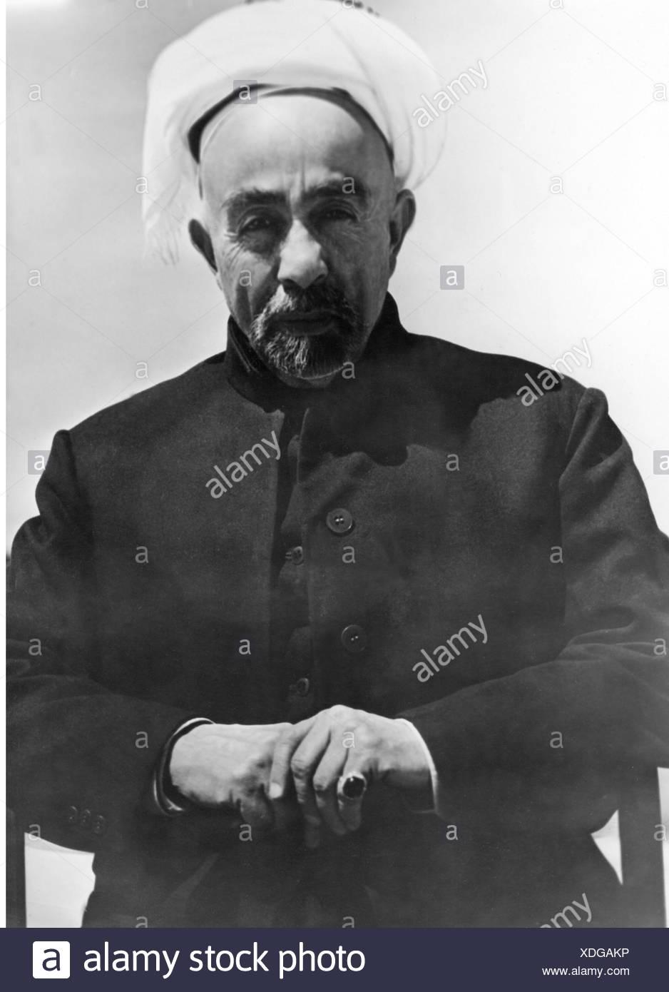 Abdullah I bin al-Hussein, 1880 - 20.7.1951, Emir of Transjordan 1.4.1921 - 25.5.1946, King of Jordan 25.5.1946 - 20.7.1951, half length, 1940s, Additional-Rights-Clearances-NA - Stock Image