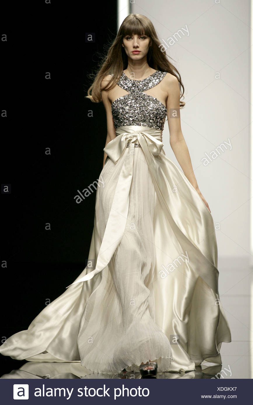 Silver Ball Gown Stock Photos & Silver Ball Gown Stock Images - Alamy