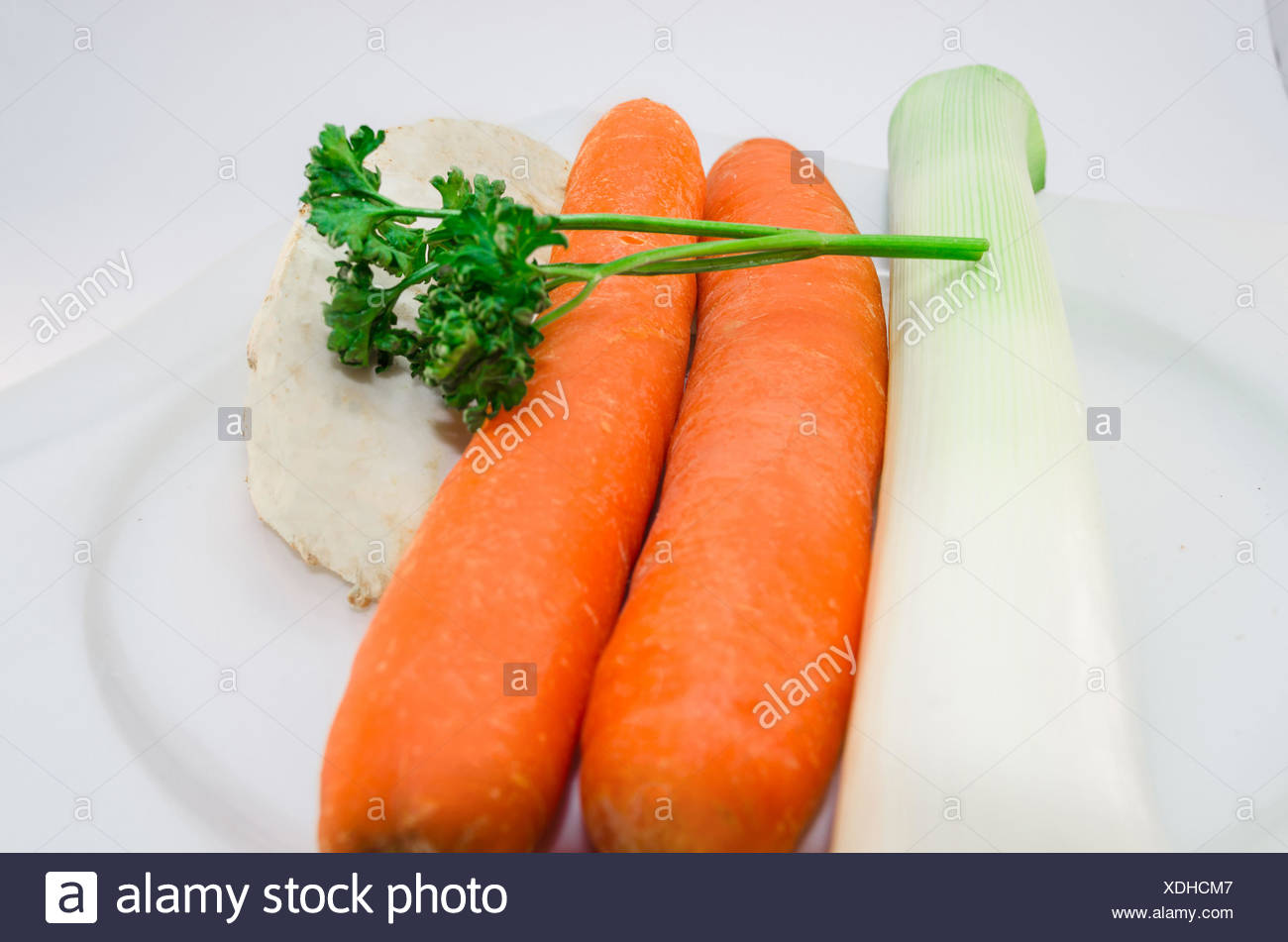 Soups vegetables - Stock Image