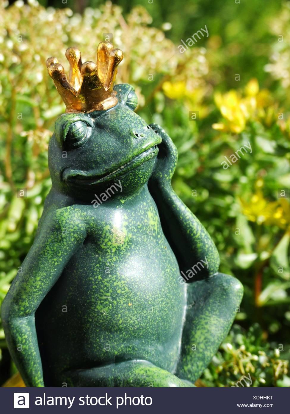 frog prince,fairytale character - Stock Image