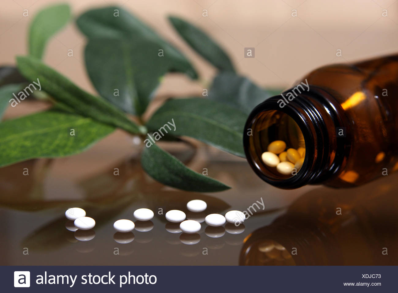 alternative medicine - Stock Image