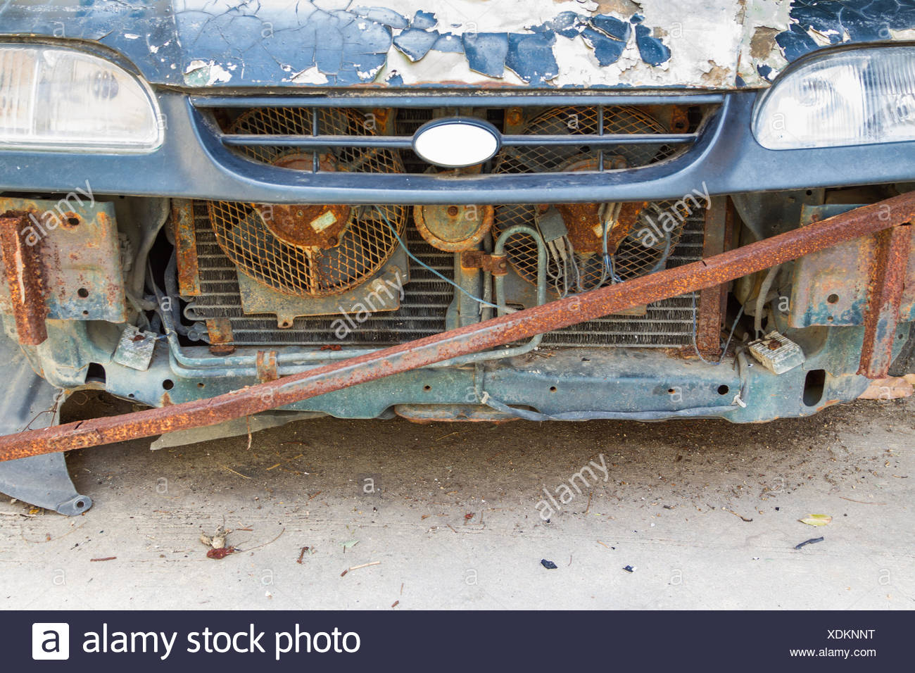 The old car background. - Stock Image