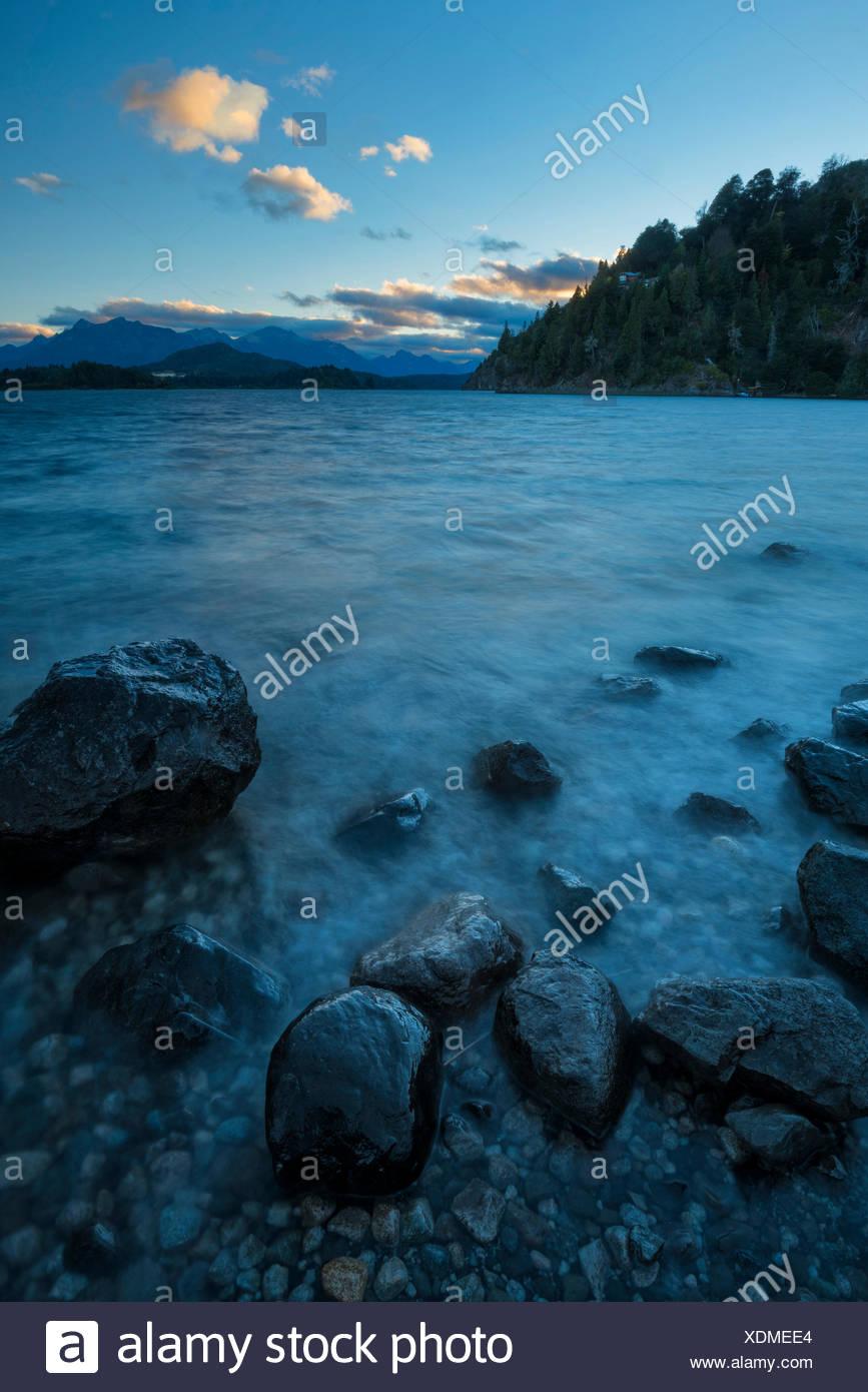 South America,Argentina,Patagonia,Rio Negro,Nahuel Huapi,National Park - Stock Image