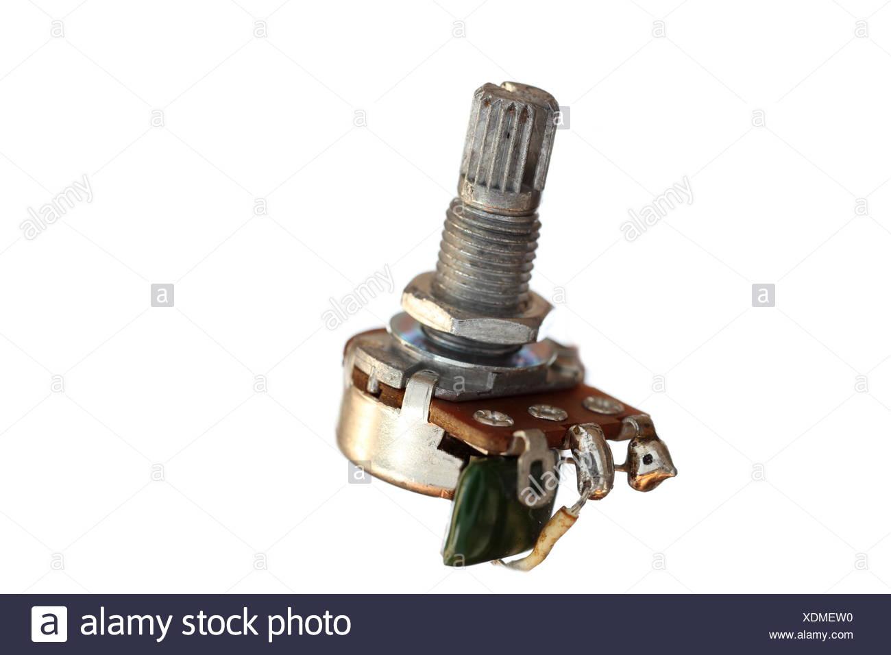 Variable Resistor Stock Photos Images Alamy Circuit Diagram Potentiometer Image
