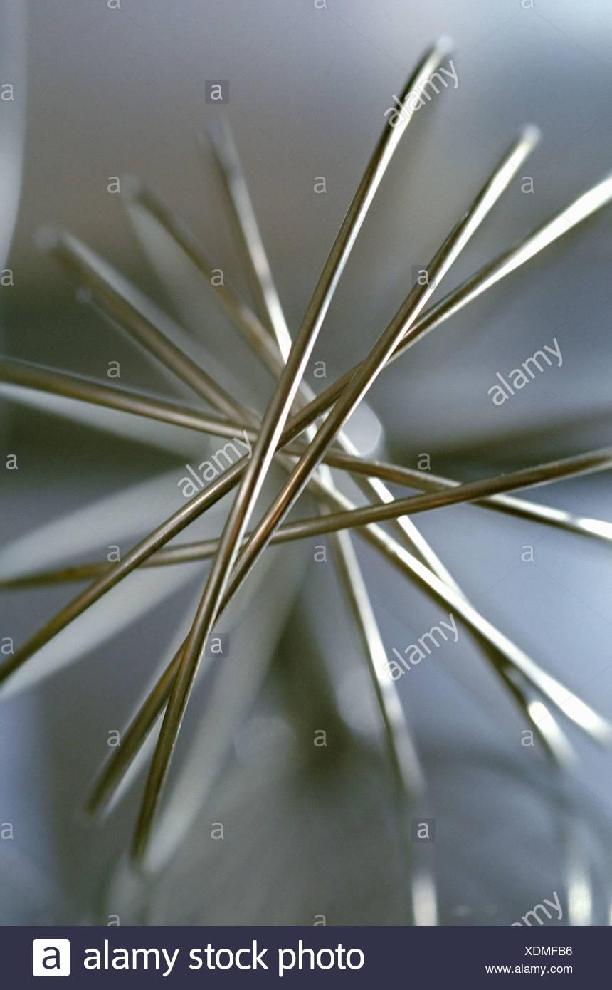 Metal whisk - Stock Image