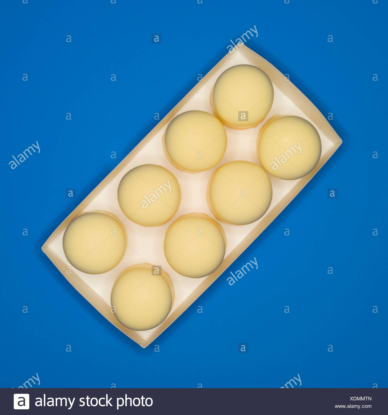 Confectionary, traditional German candy, elevated view - Stock Image