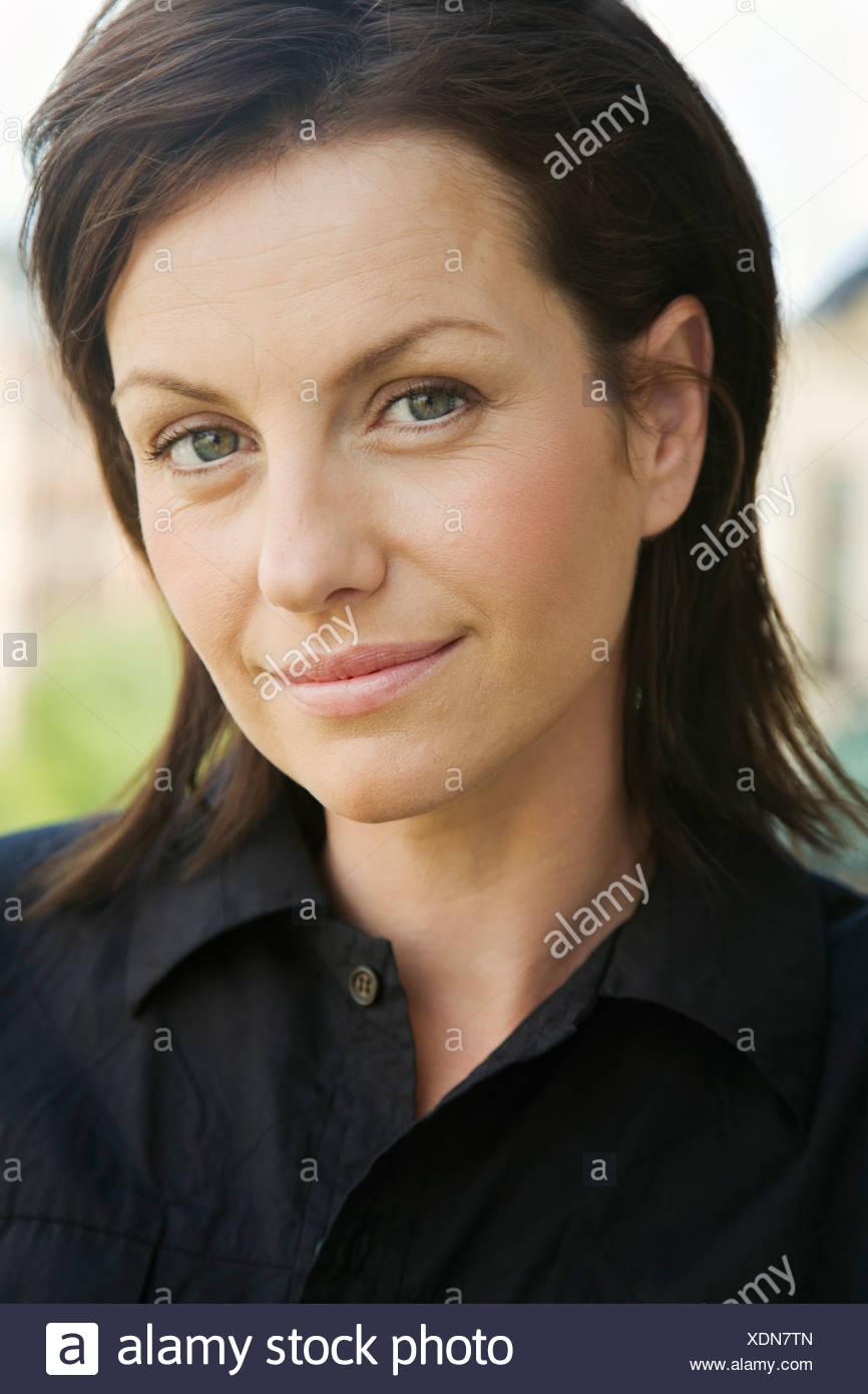 Portrait of a woman - Stock Image