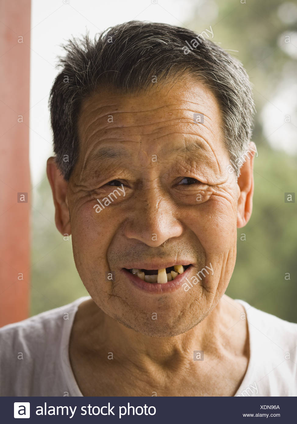 Toothless Man Smiling Stock Photos & Toothless Man Smiling