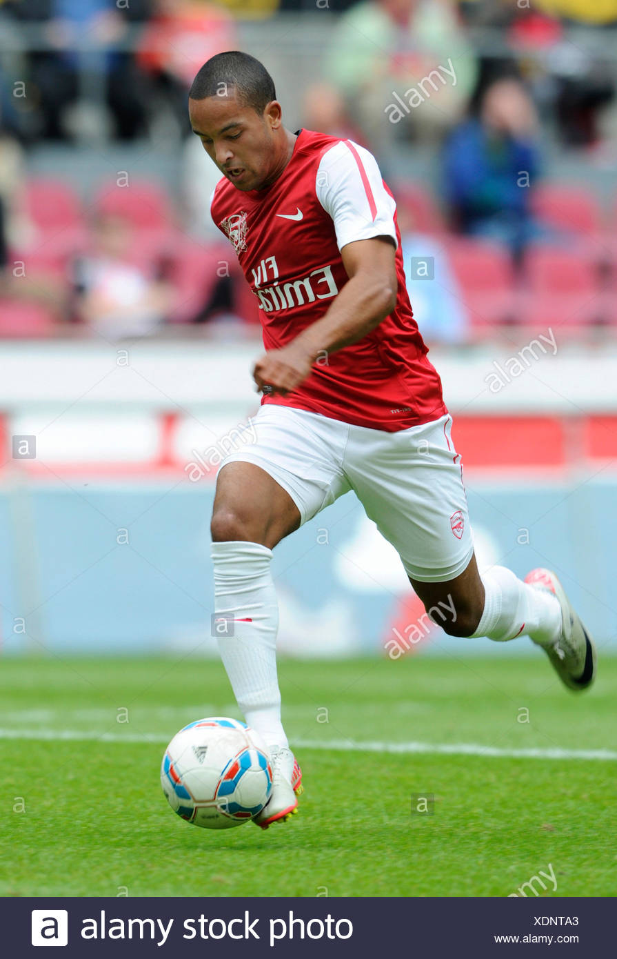 Theo Walcott of Arsenal during football test match between FC Cologne 1-2 Arsenal, Rhein-Energie-Stadion, Cologne - Stock Image