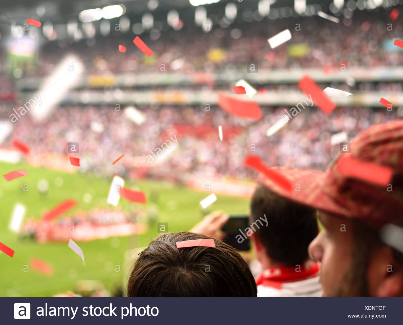 Fans - Stock Image