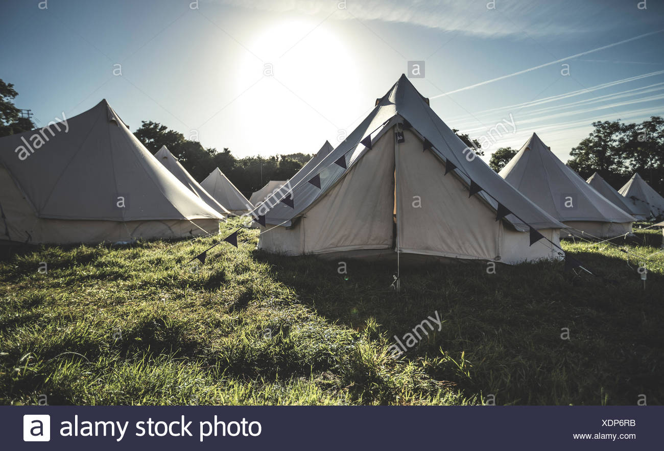 Tremendous Glamping Bell Tents Traditional Canvas Tents In An Download Free Architecture Designs Itiscsunscenecom
