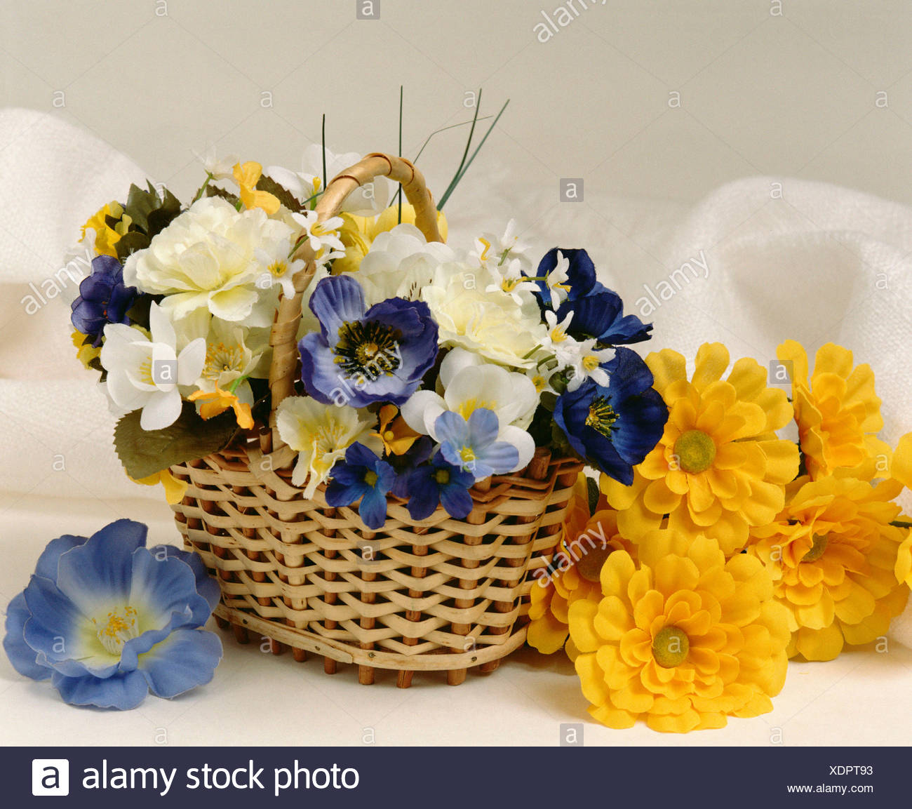 Bouquet of silk flowers stock photo 283858431 alamy bouquet of silk flowers izmirmasajfo
