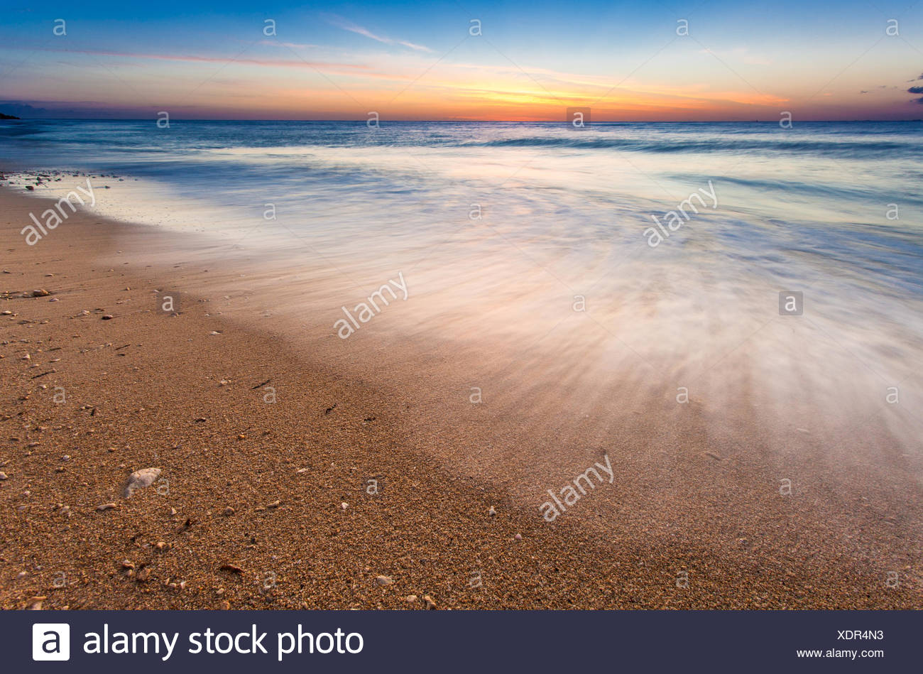 Scenic seascape - Stock Image