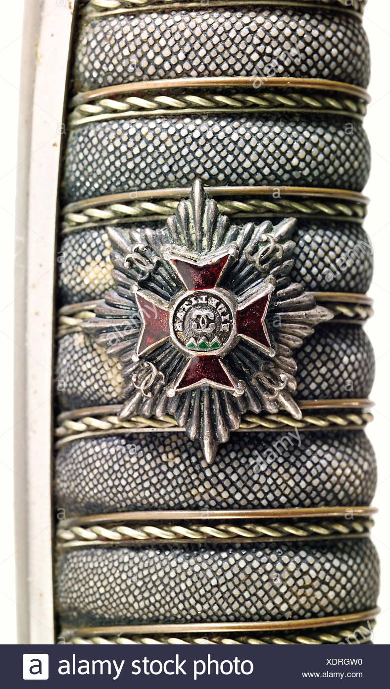 Fuller Karlsruhe baden a sabre for officers 1856 pattern of the 1st baden leib