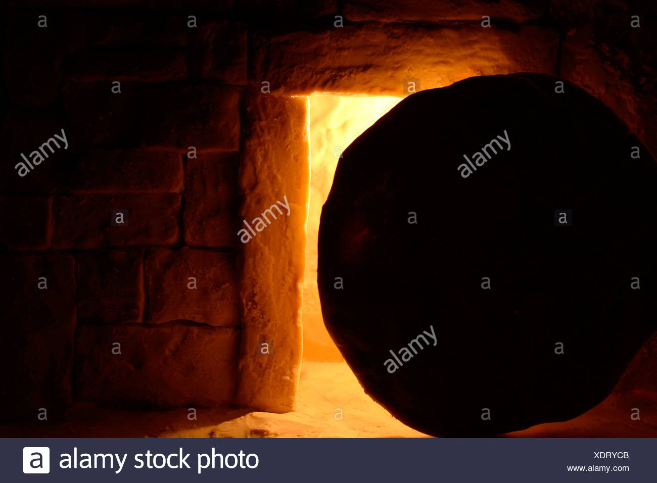 Resurrection of Jesus - Stock Image