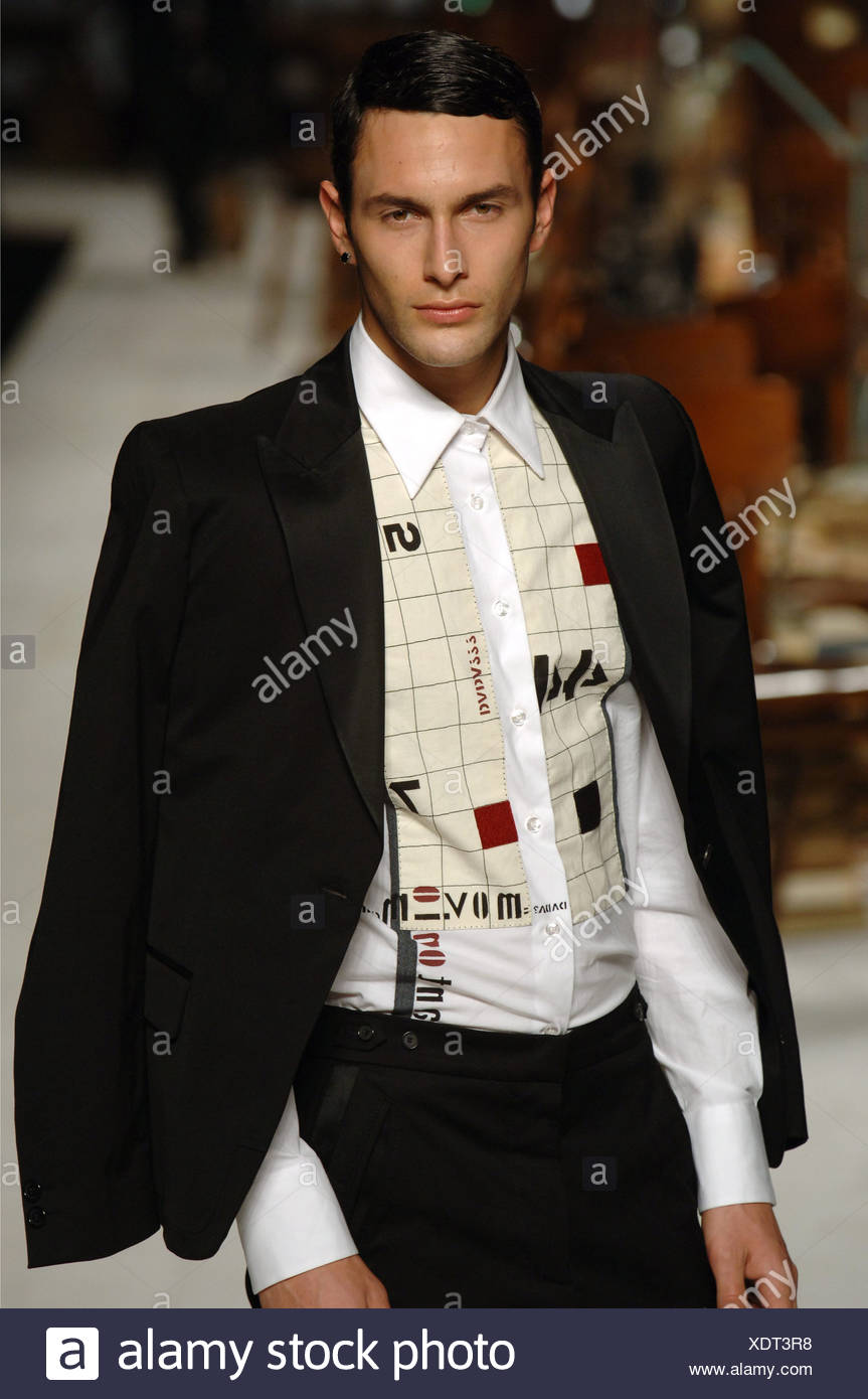 Marras Menswear Milan A W Brunette male wearing a black