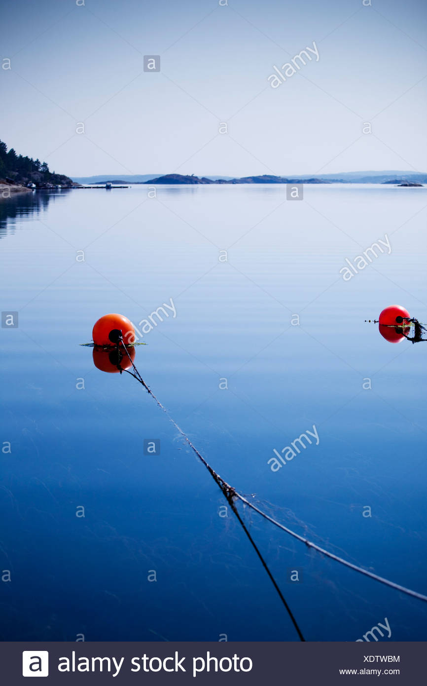 Blue sea - Stock Image