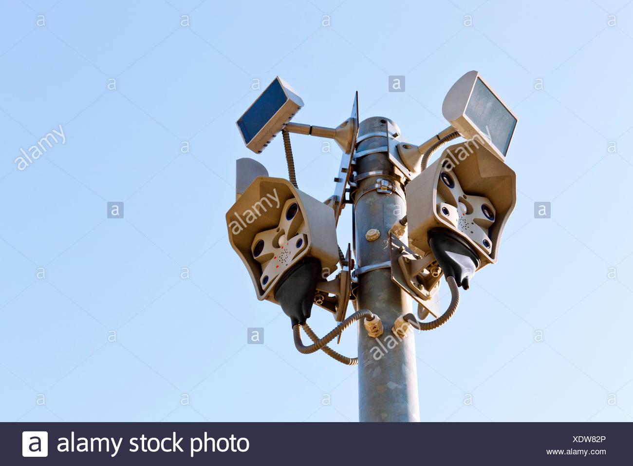 CCTV cameras Stock Photo