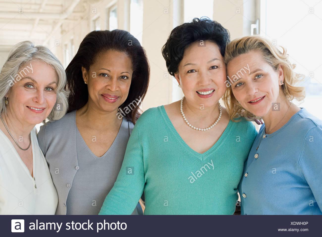 Happy women - Stock Image