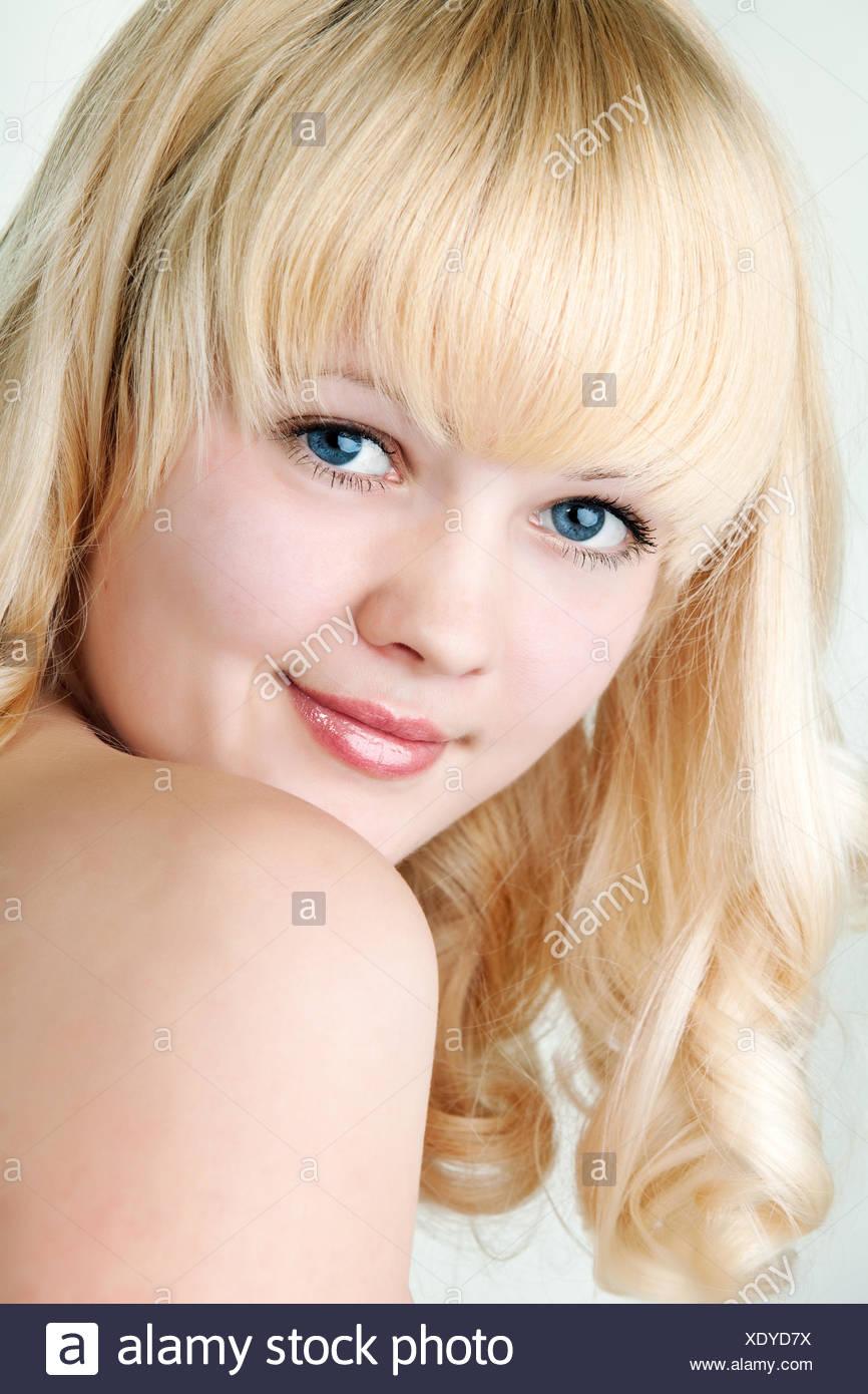 beautiful girl - Stock Image