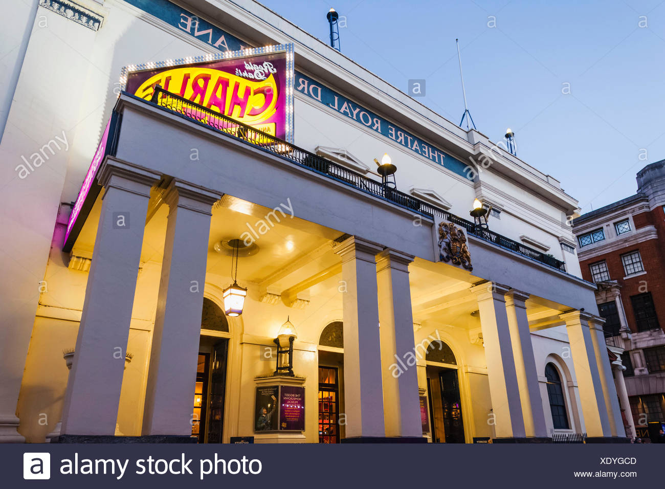 England, London, The West End, Theatre Royal Drury Lane - Stock Image