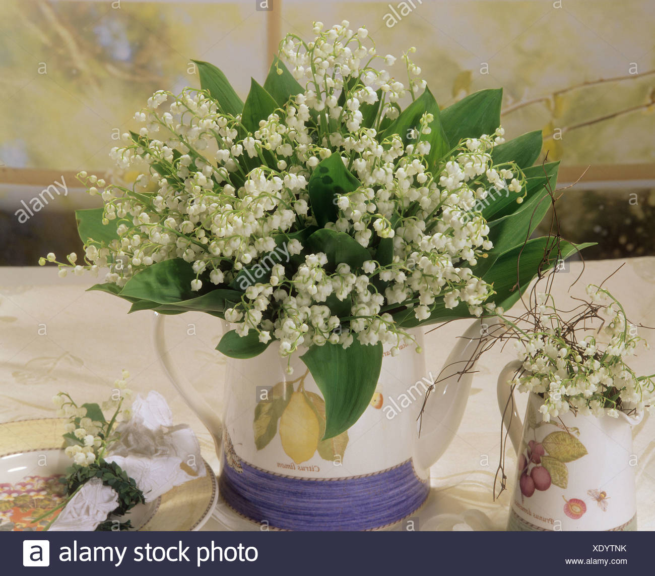 Bouquet with lilies of the valley stock photo 283968543 alamy bouquet with lilies of the valley izmirmasajfo