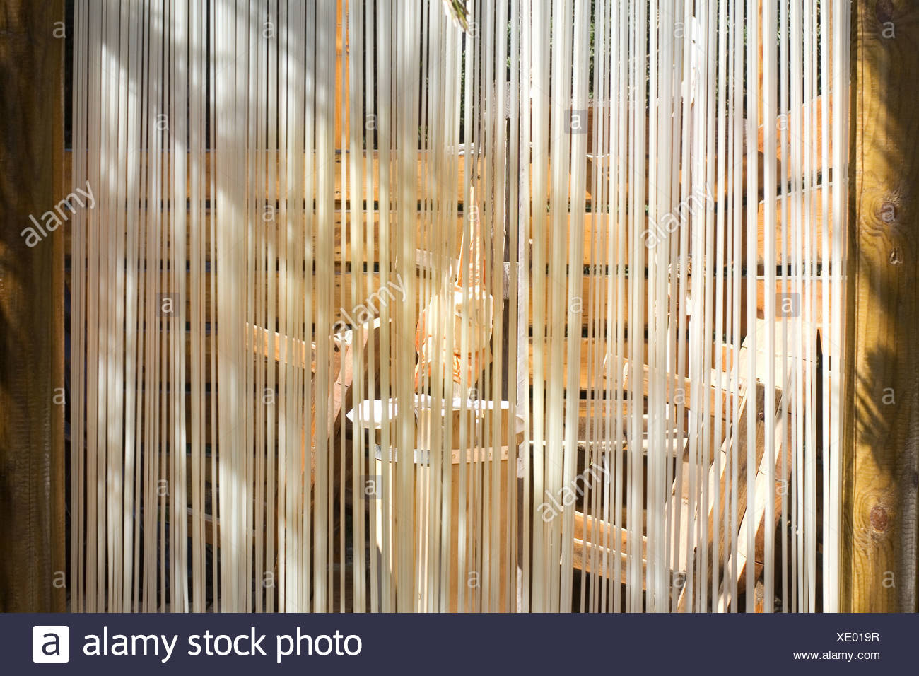 curtain - Stock Image