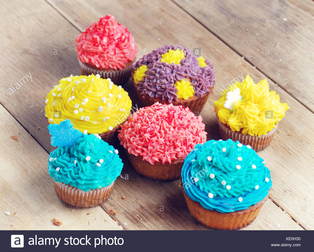 Pleasing Sweet Easter Christmas Birthday Cakes Stock Photo 283984484 Alamy Personalised Birthday Cards Veneteletsinfo