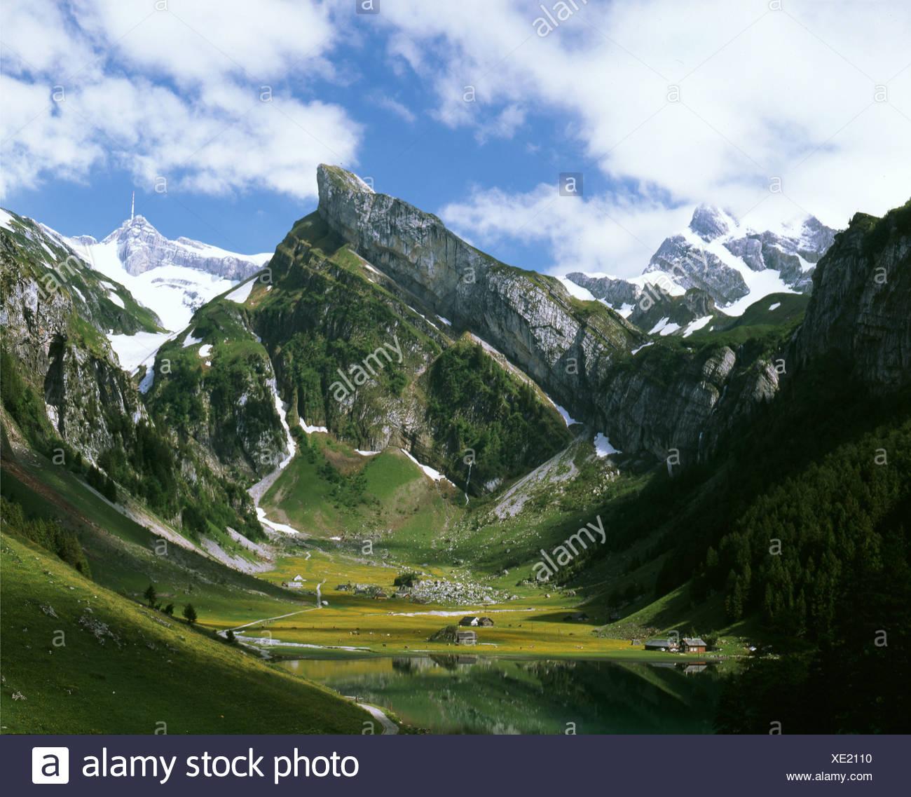 Appenzellerland Canton Appenzell Innerrhoden Stock Photos