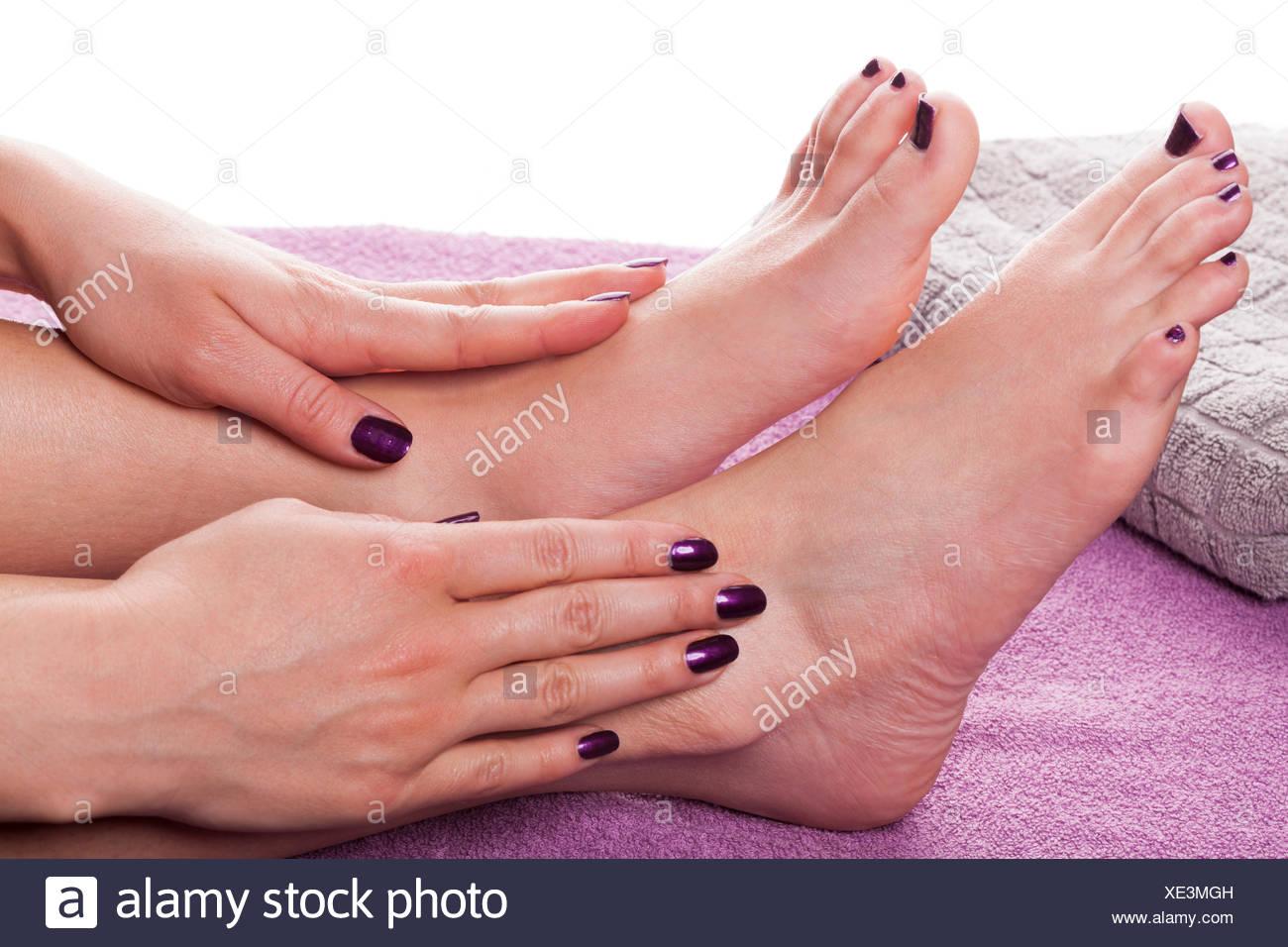 Nagellack füße