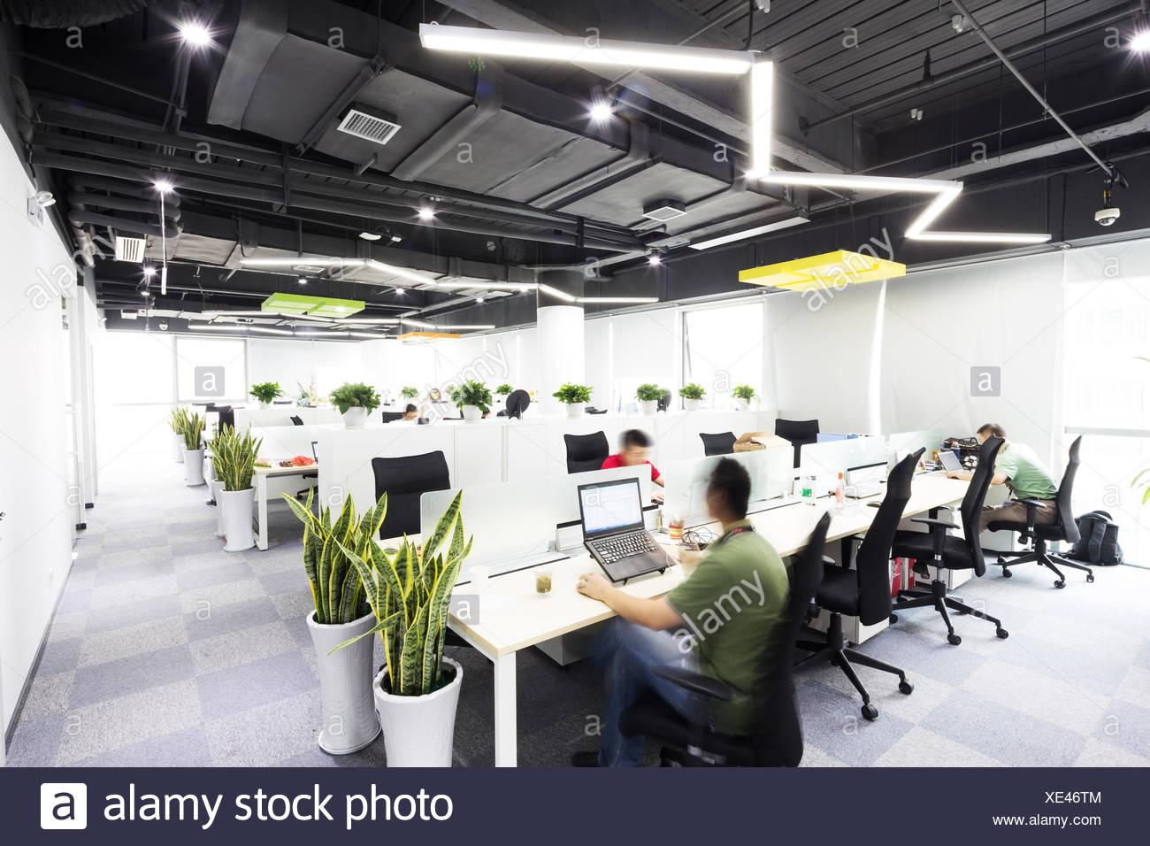 interior of modern office - Stock Image