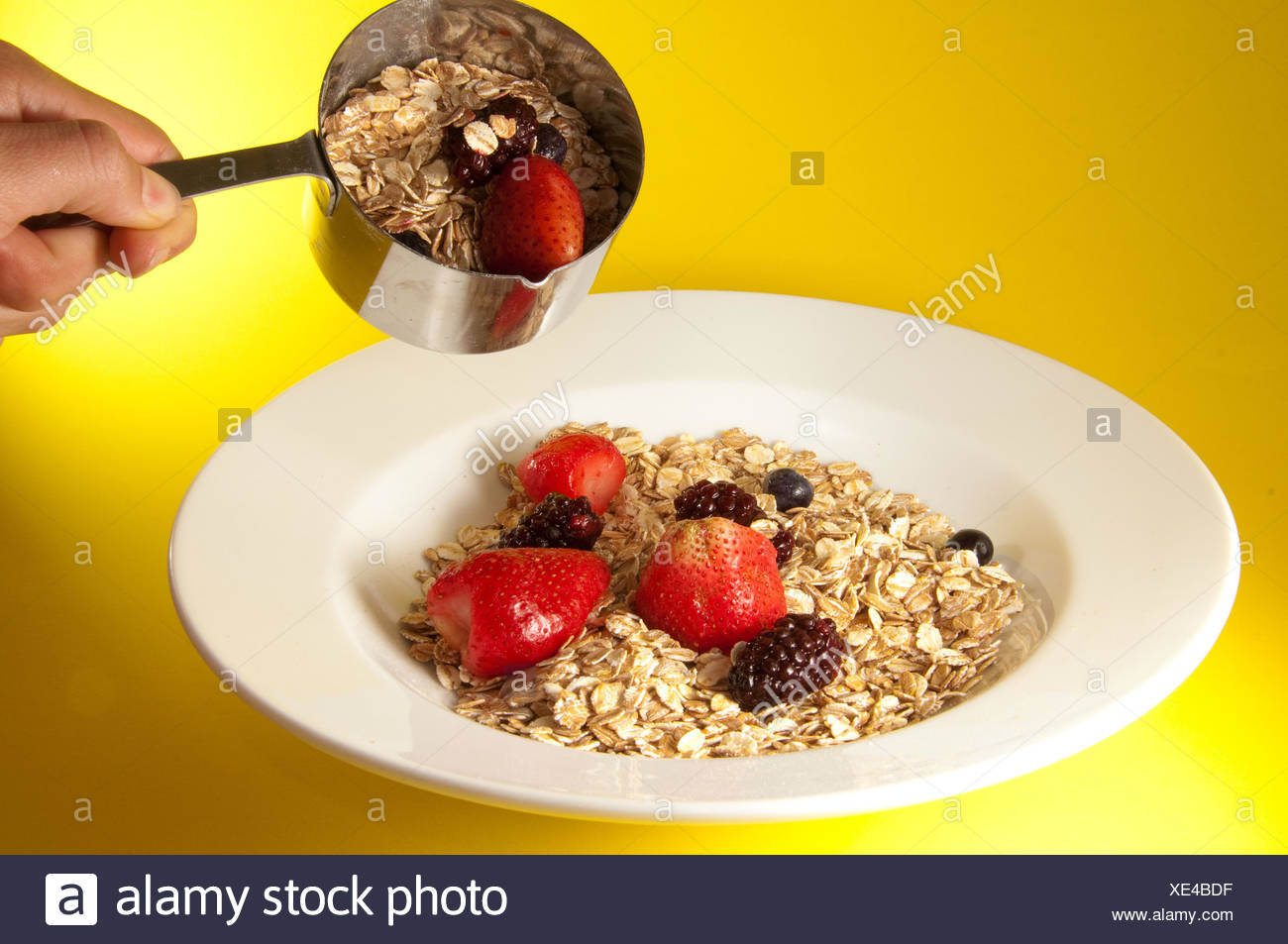 cereal food breakfeast Stock Photo