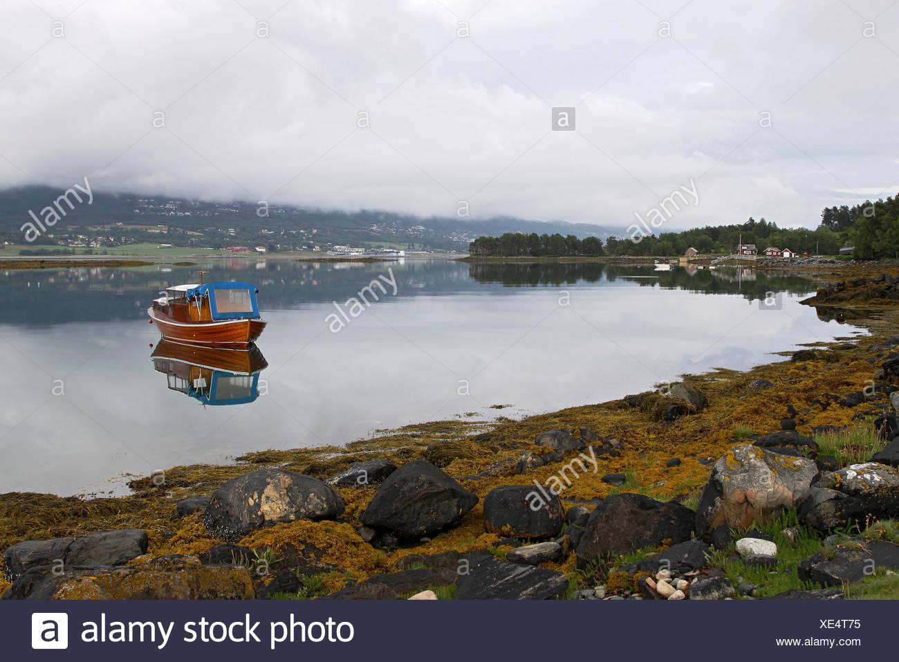 Fannefjord, More og Romsdal, Norway - Stock Image