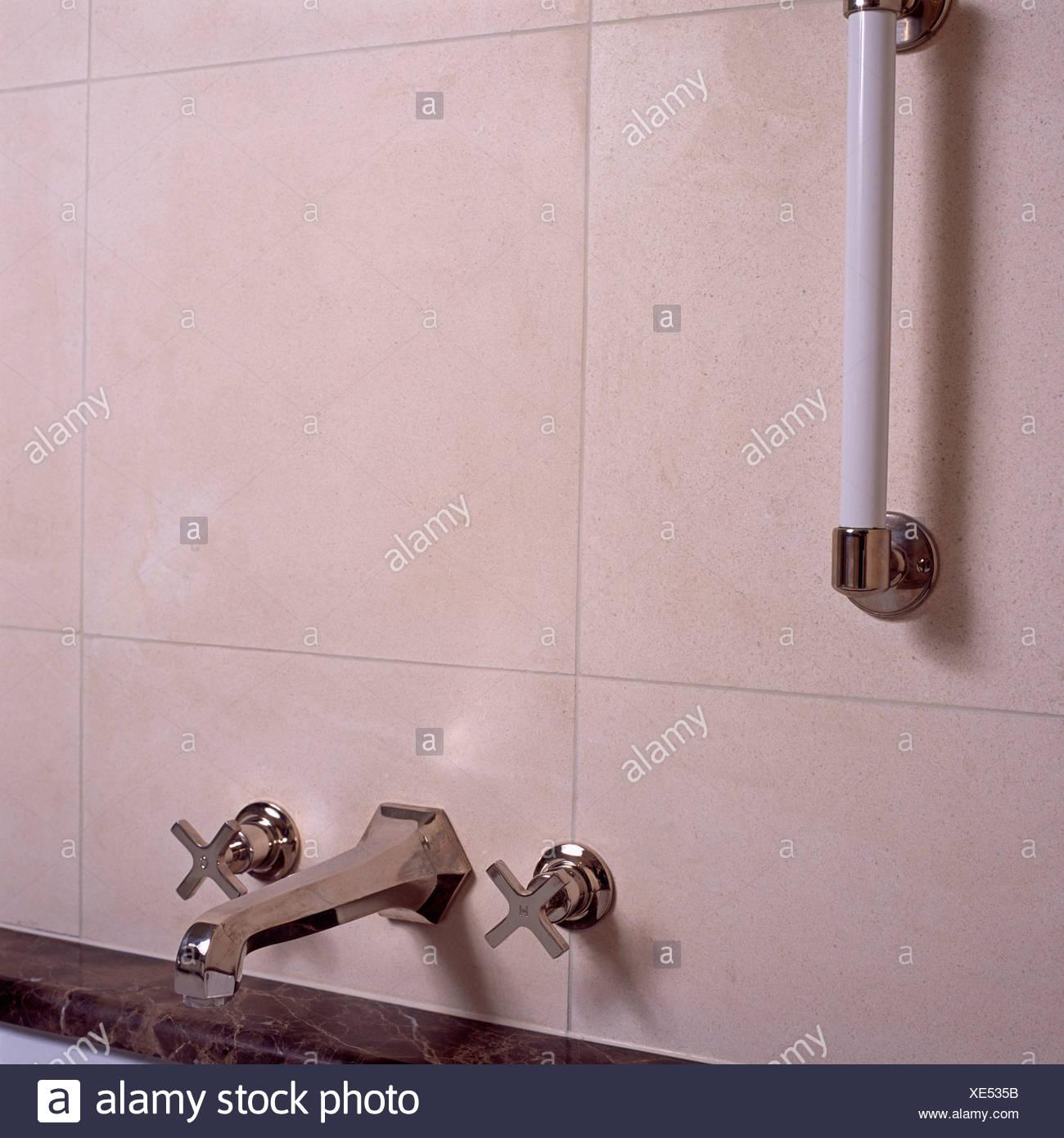 Handrail Bathroom Stock Photos & Handrail Bathroom Stock Images - Alamy