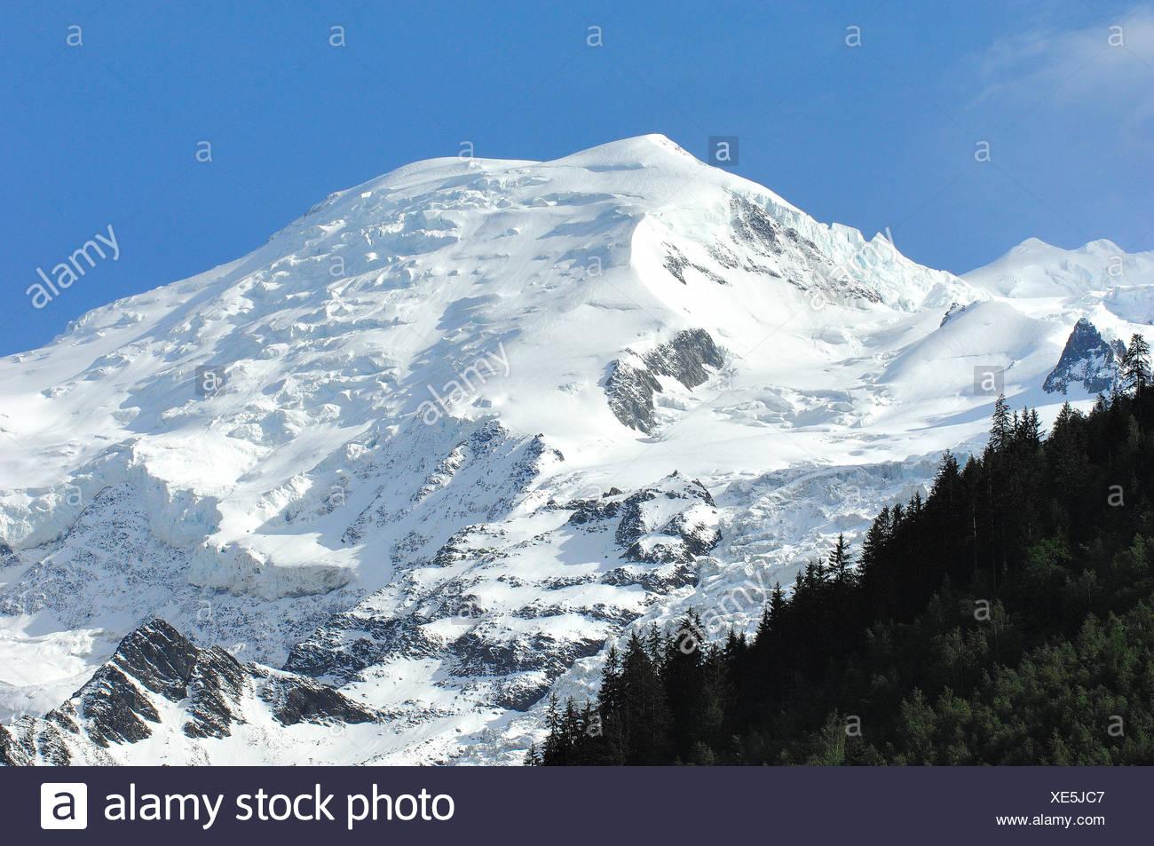 europe france europe france montblanc chamonix rhne-alpes haute-savoie - Stock Image