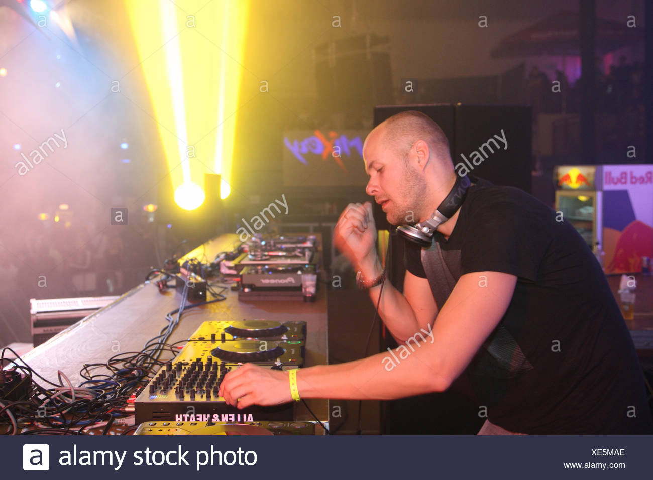 Techno DJ Adam Beyer - Stock Image