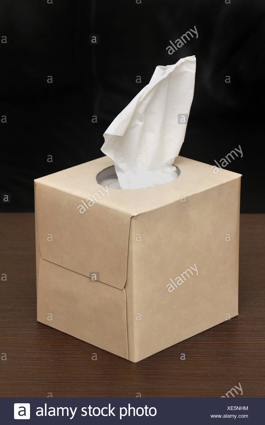 Paper tissues Stock Photo