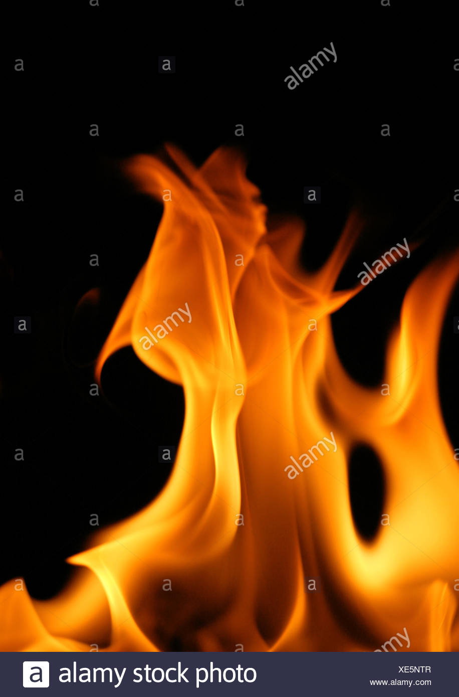 hot heat fire - Stock Image
