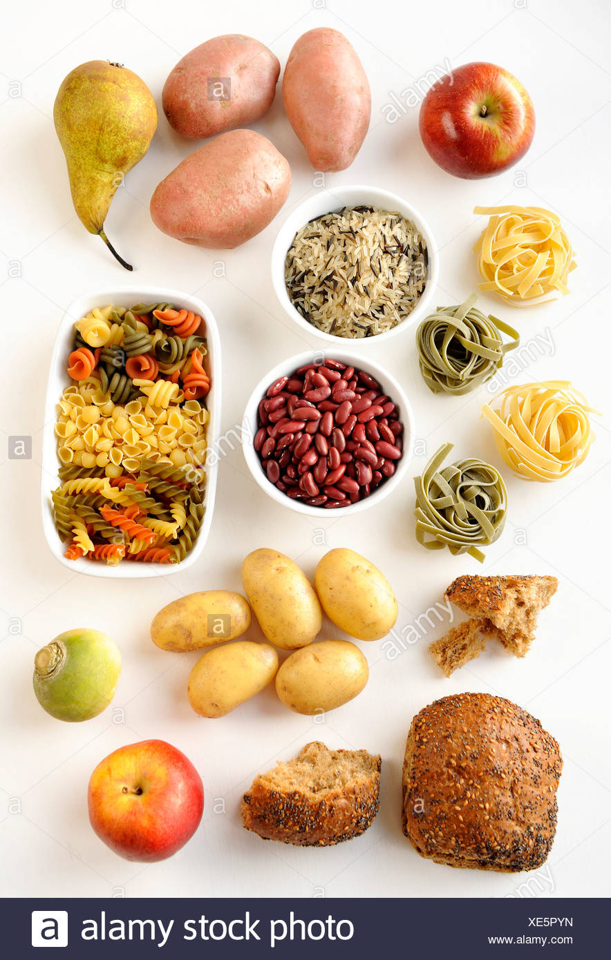 Carbohydrates - Stock Image