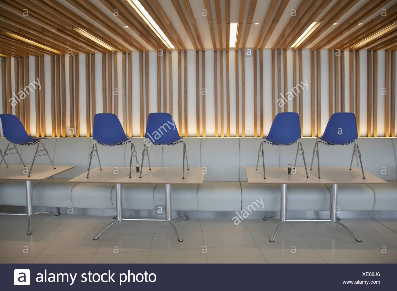 Empty office break room - Stock Image