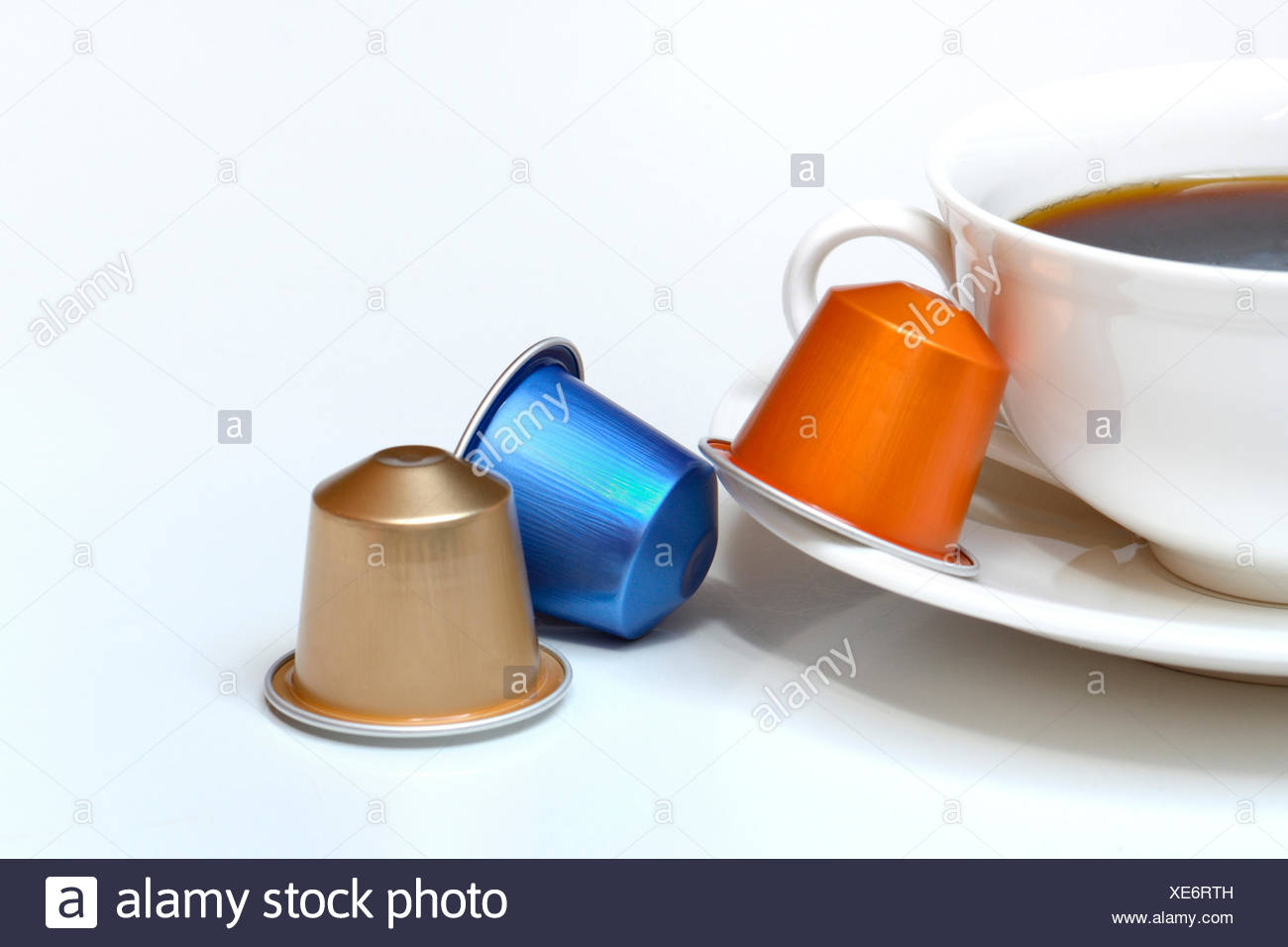 Kaffeekapseln Stock Photos Kaffeekapseln Stock Images Alamy