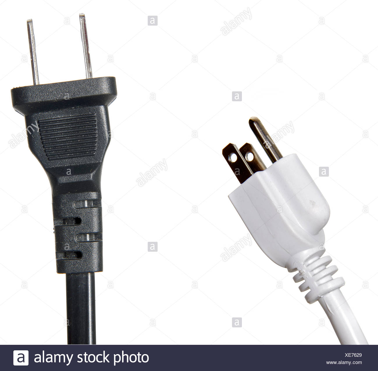 110 volt three prong electrical plug stock photo 284129505 alamy