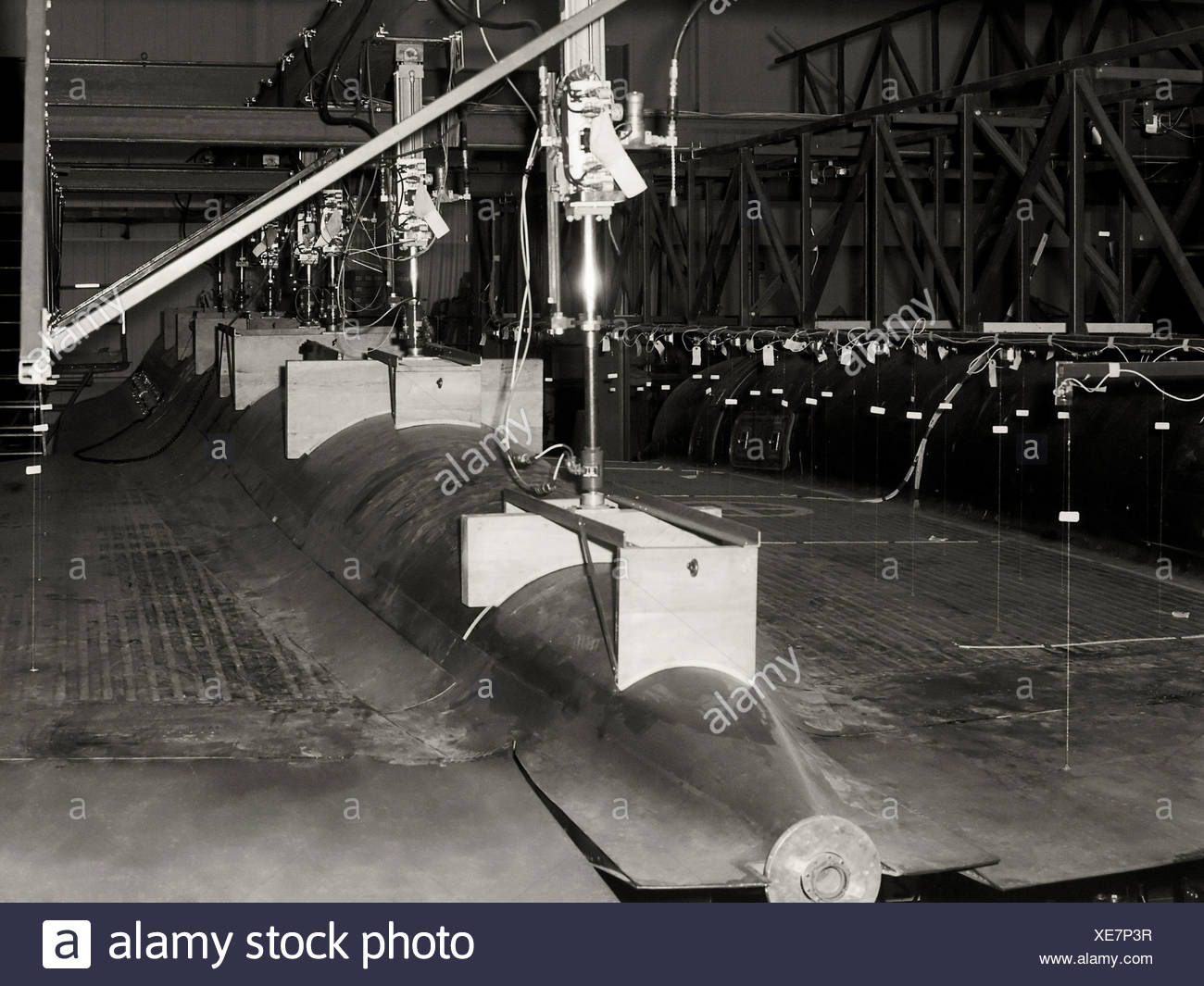 Testing Body of YF-12 - Stock Image
