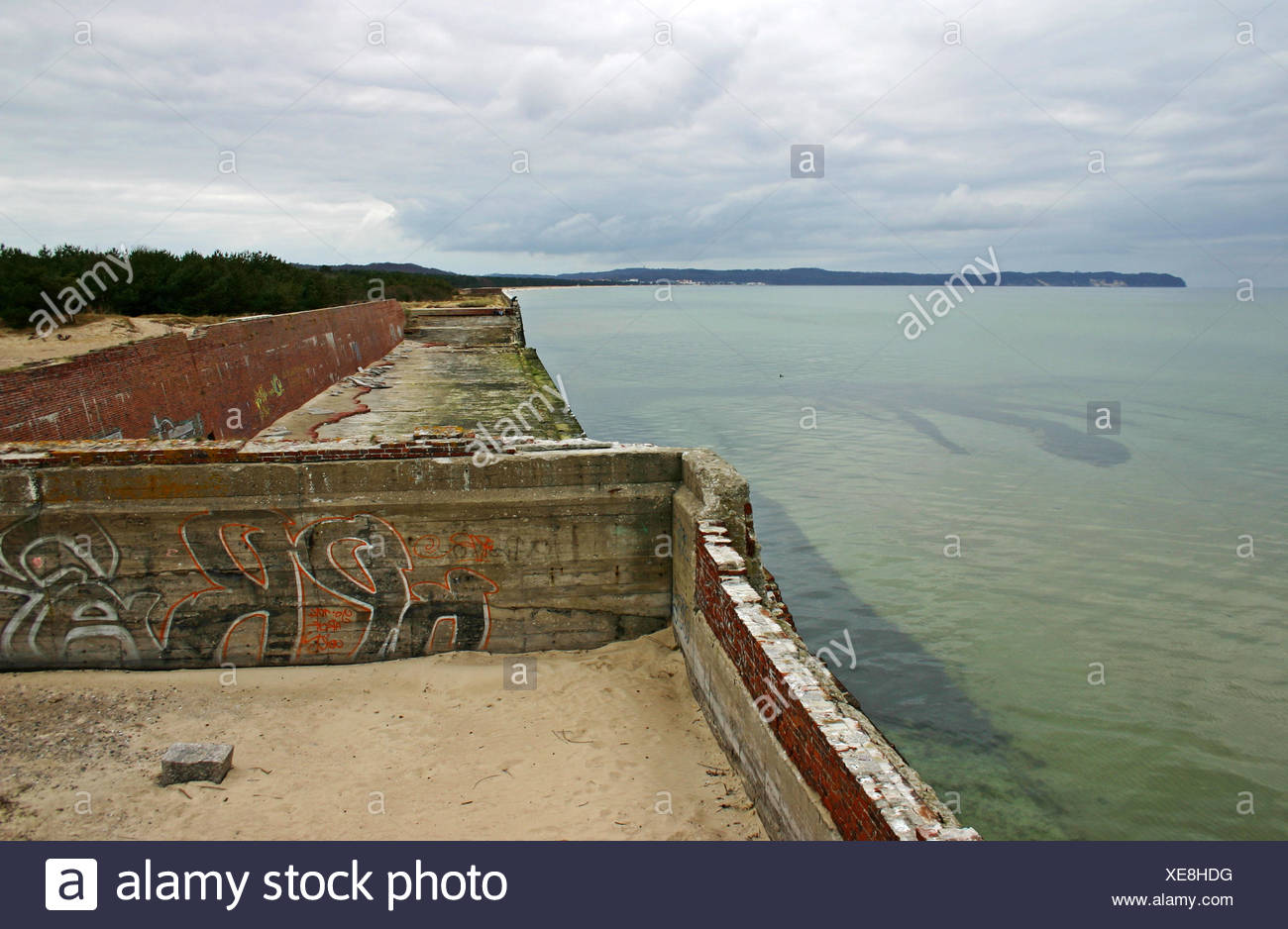 prora - color version ii - Stock Image