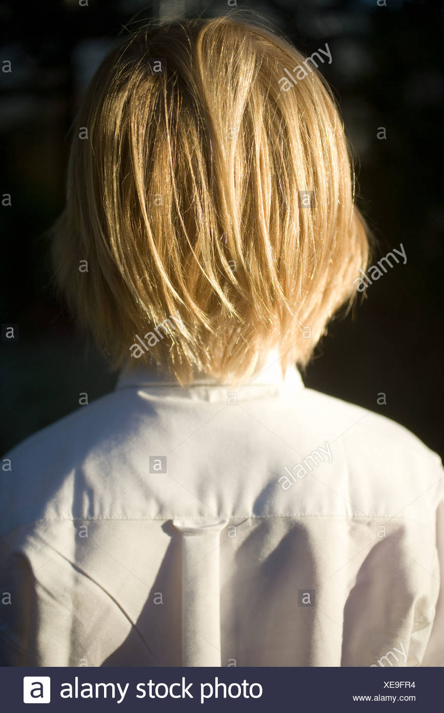Hair Style Boy High Resolution Stock Photography And Images Alamy