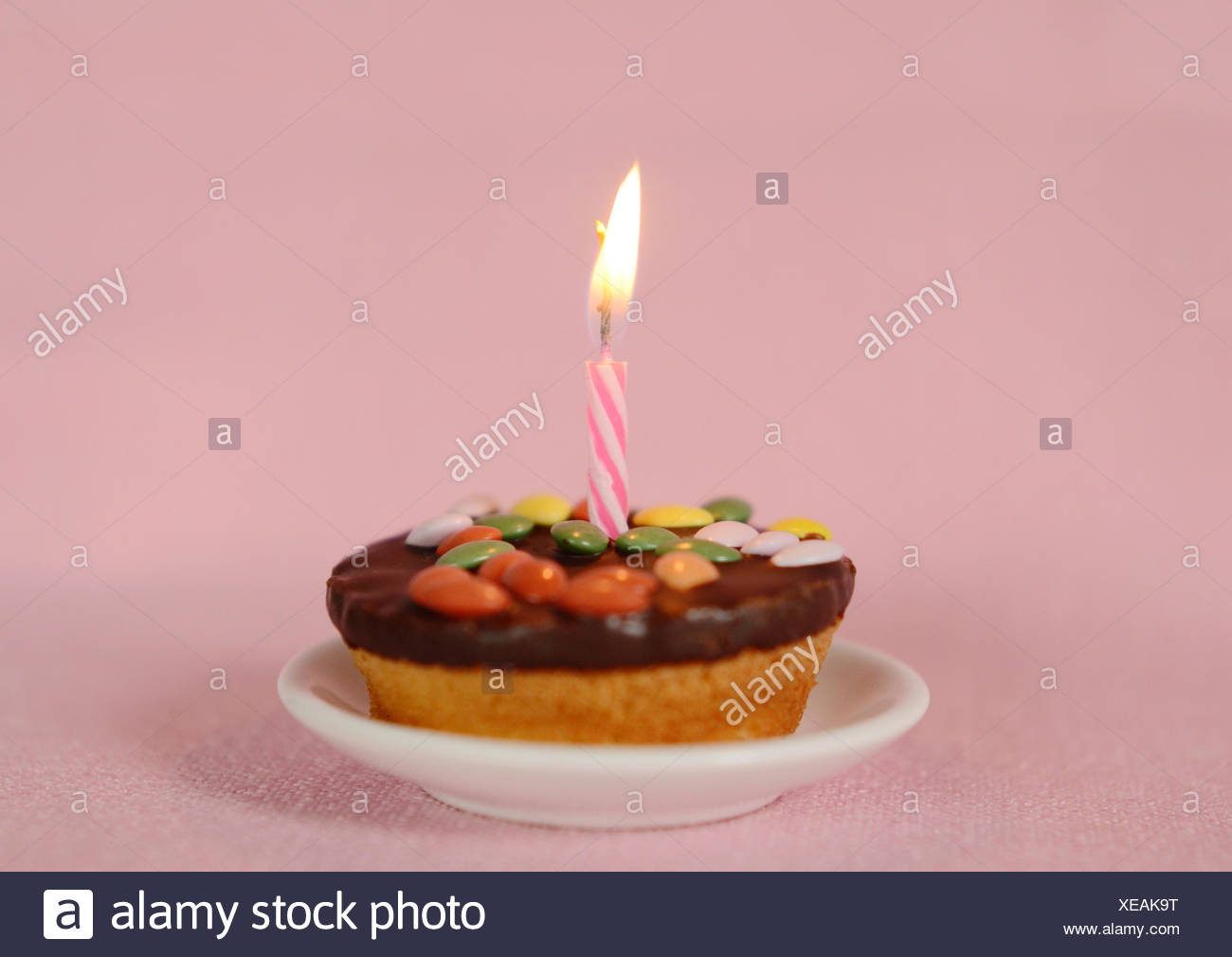 Candle Ornament Birthday Cake Muffin Detail Pie Cakes Decoration Flame
