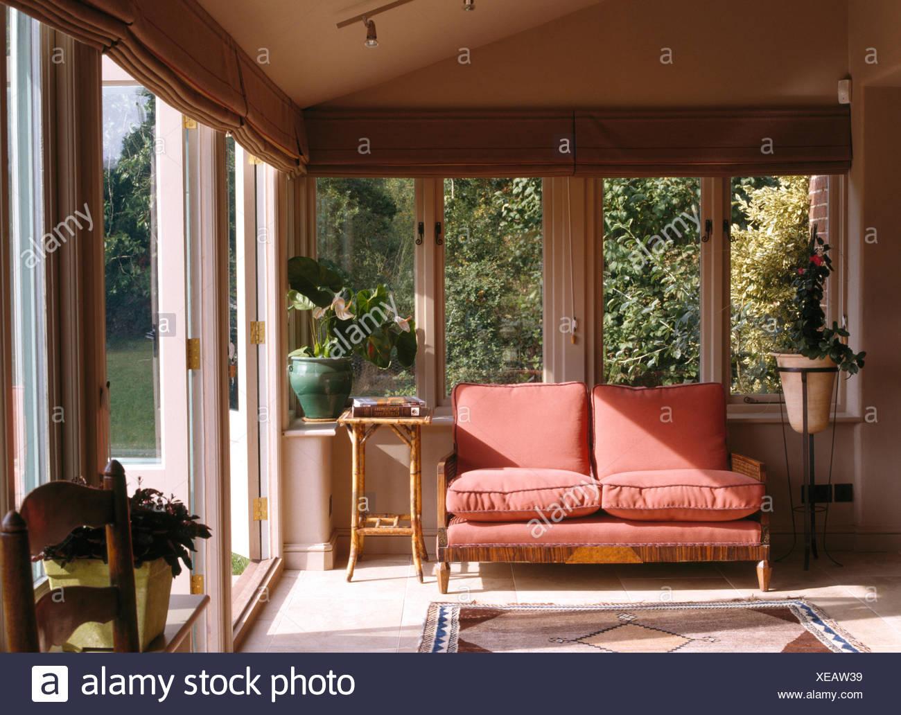 Superb Small Pink Sofa In Living Room Extension With Natural Linen Inzonedesignstudio Interior Chair Design Inzonedesignstudiocom