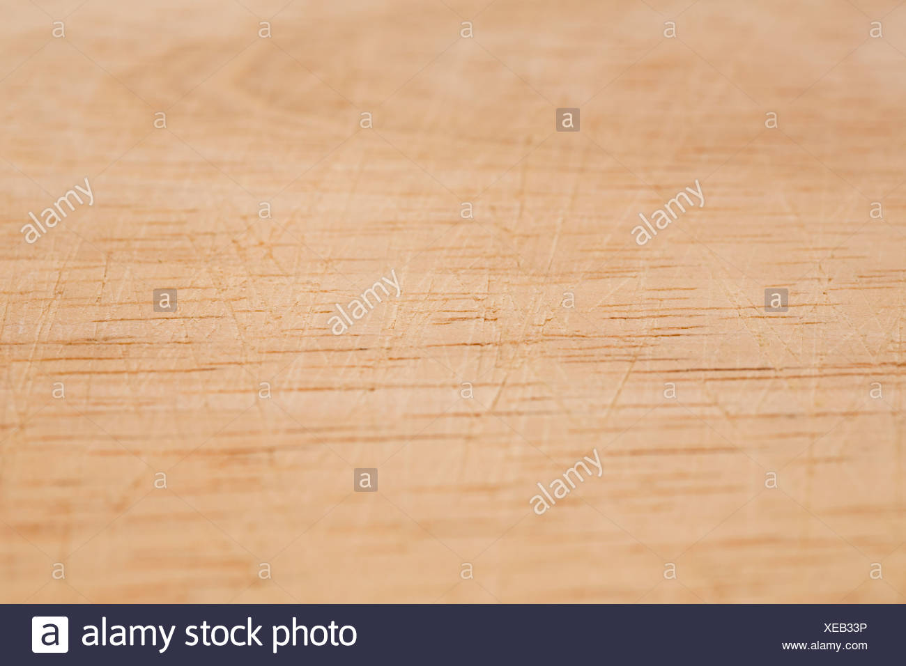 Scratched table - Stock Image