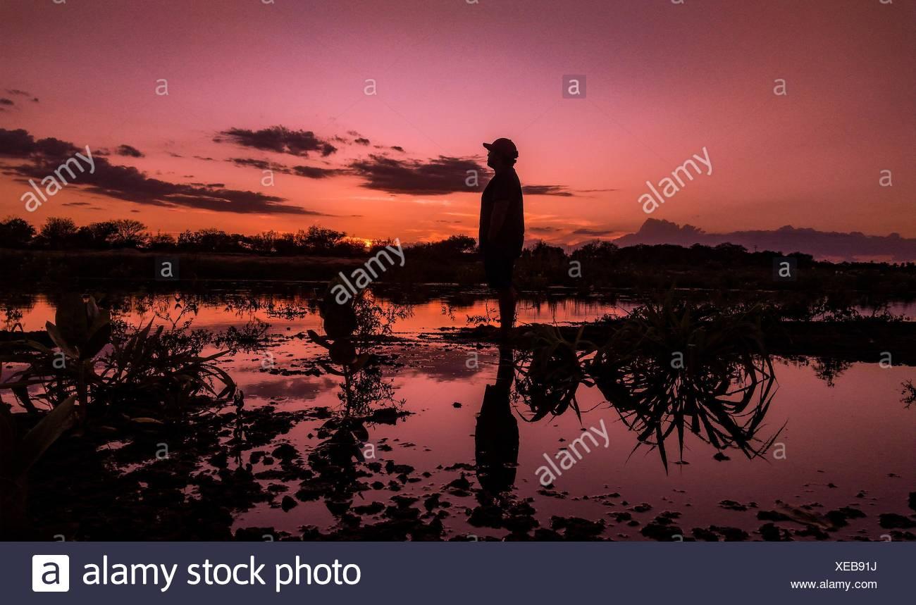 Reflexion - Stock Image