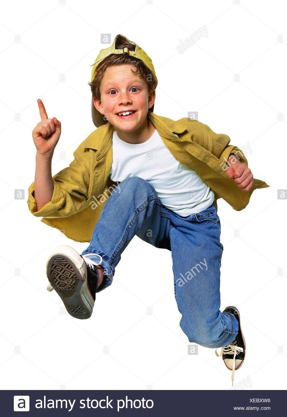 Boy, baseball cap, motion, run, crack, gesture, Children